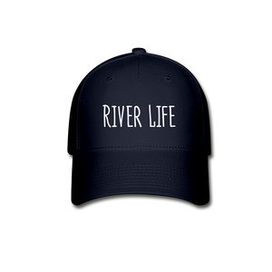 River Life-Baseball Cap - navy