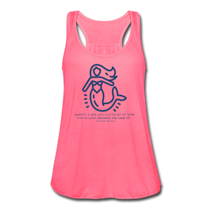 That's What Mermaids are Made of - Women's Tank Top - neon pink