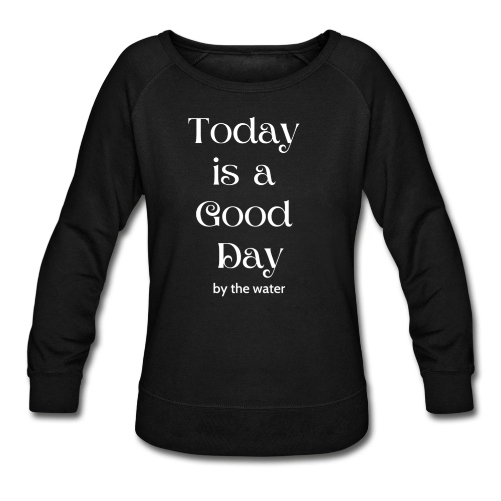 It's a Good Day-Women's  2-sided Sweatshirt - black