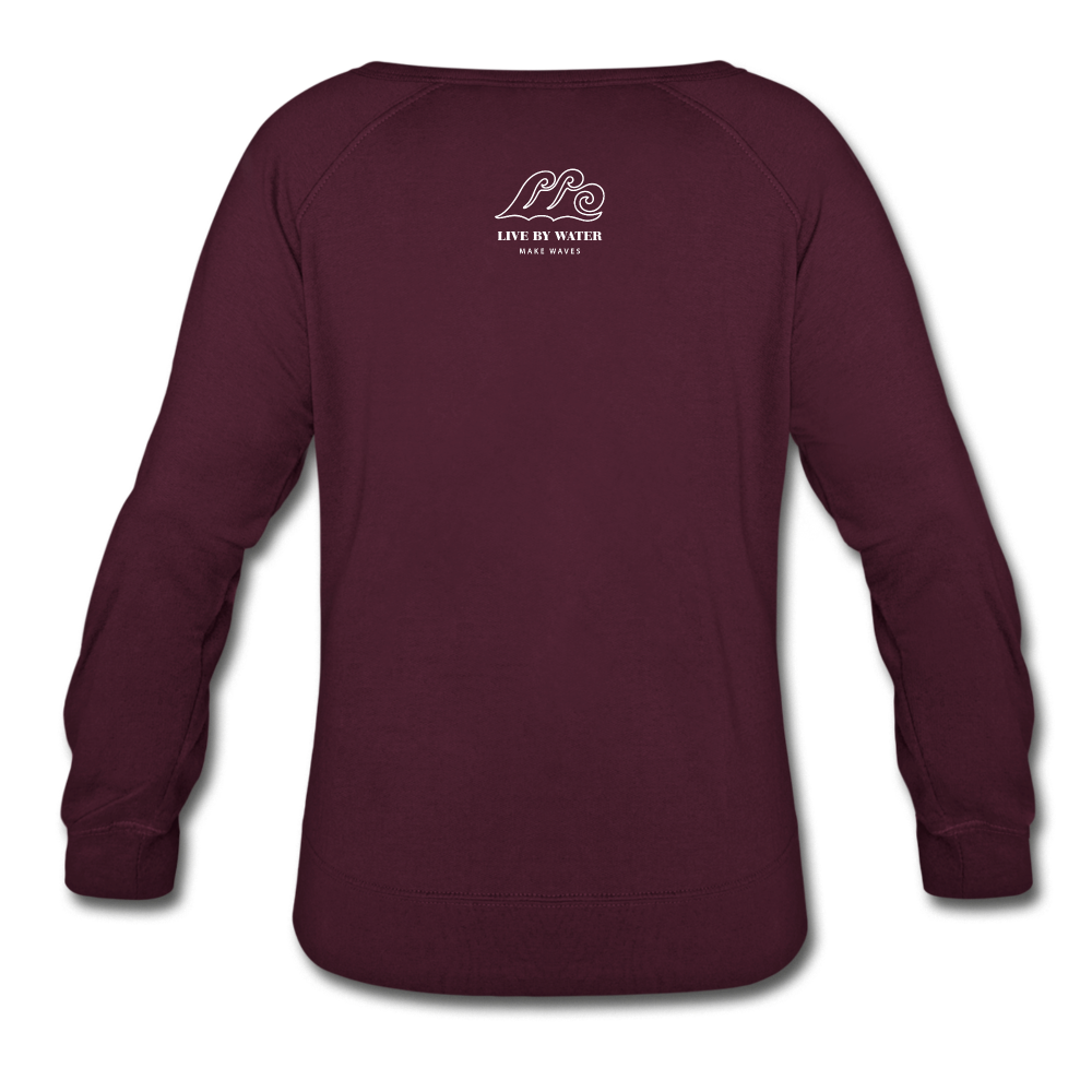 It's a Good Day-Women's  2-sided Sweatshirt - plum