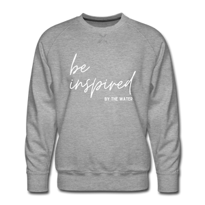 Be inspired by the Water-Unisex 2-side Sweatshirt - heather gray