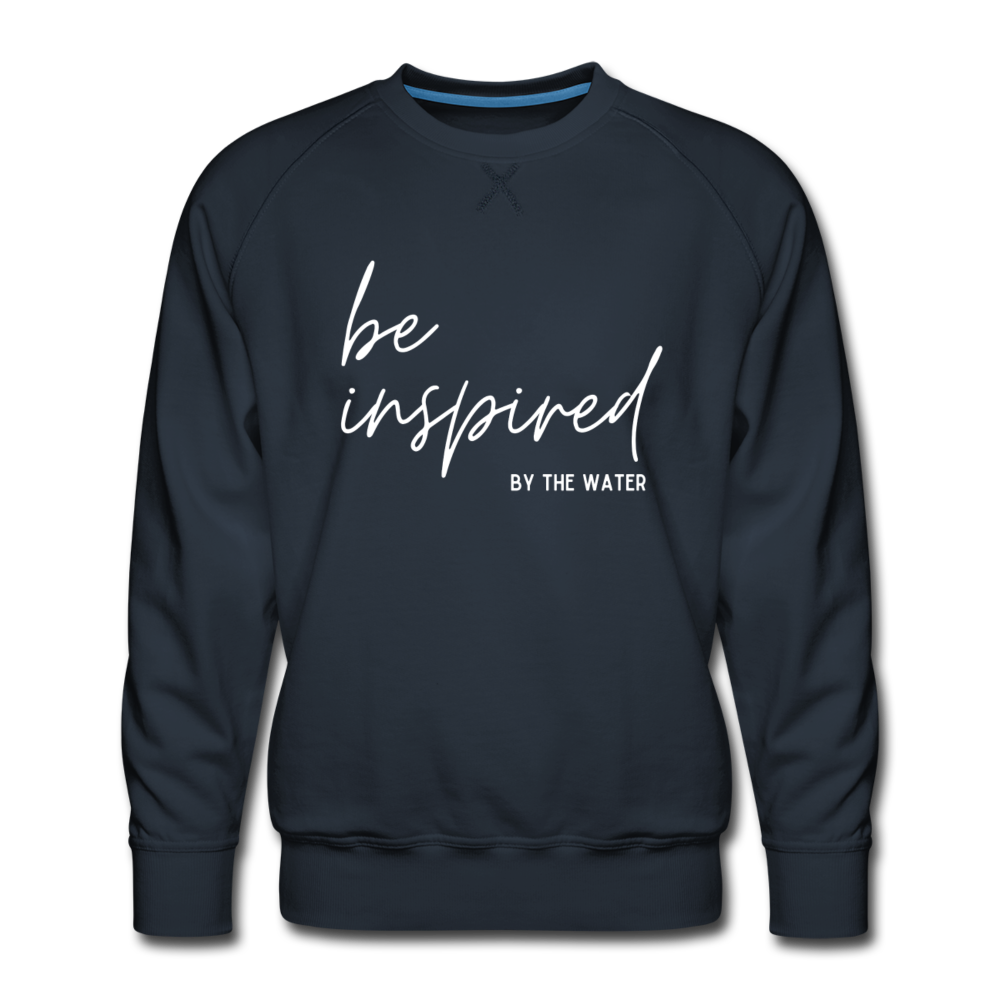 Be inspired by the Water-Unisex 2-side Sweatshirt - navy