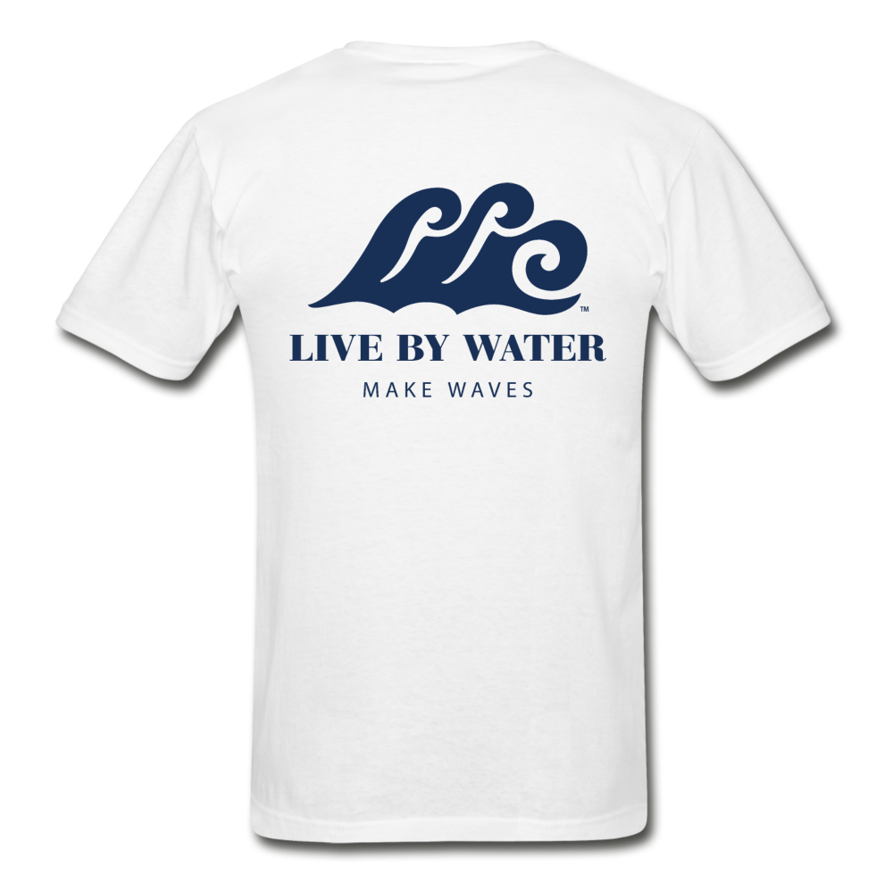 Make Waves - Unisex T-shirt - white