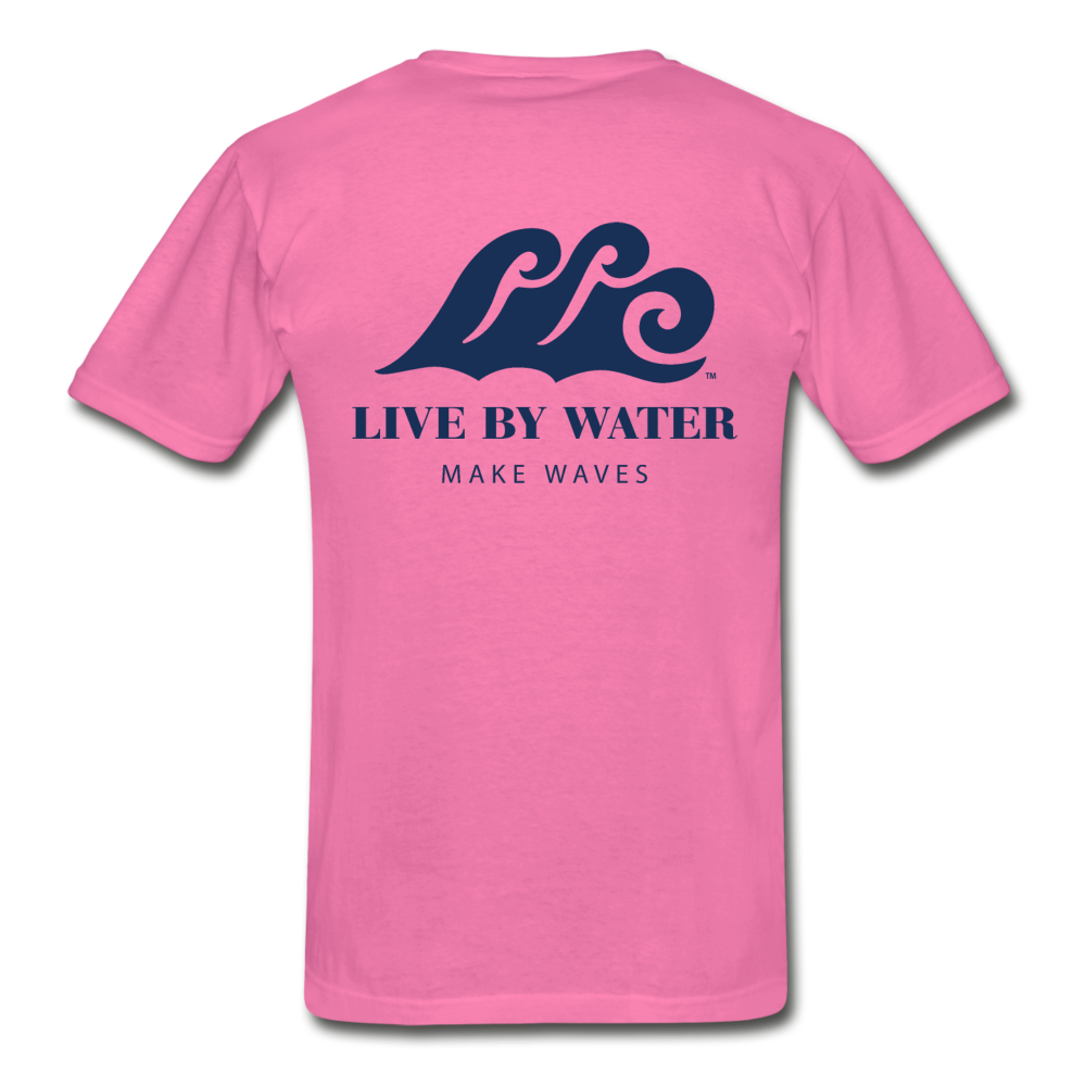 Make Waves - Unisex T-shirt - hot pink