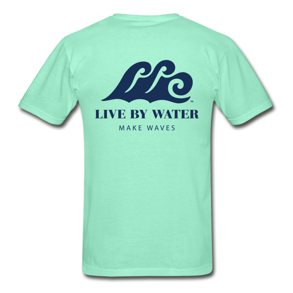 Make Waves - Unisex T-shirt - deep mint