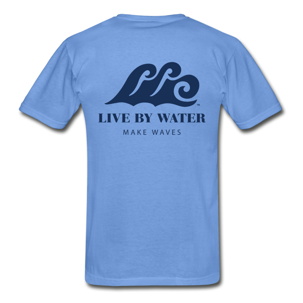 Make Waves - Unisex T-shirt - carolina blue