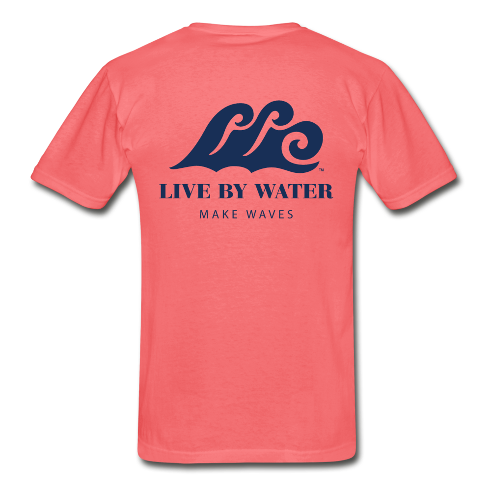 Make Waves - Unisex T-shirt - coral