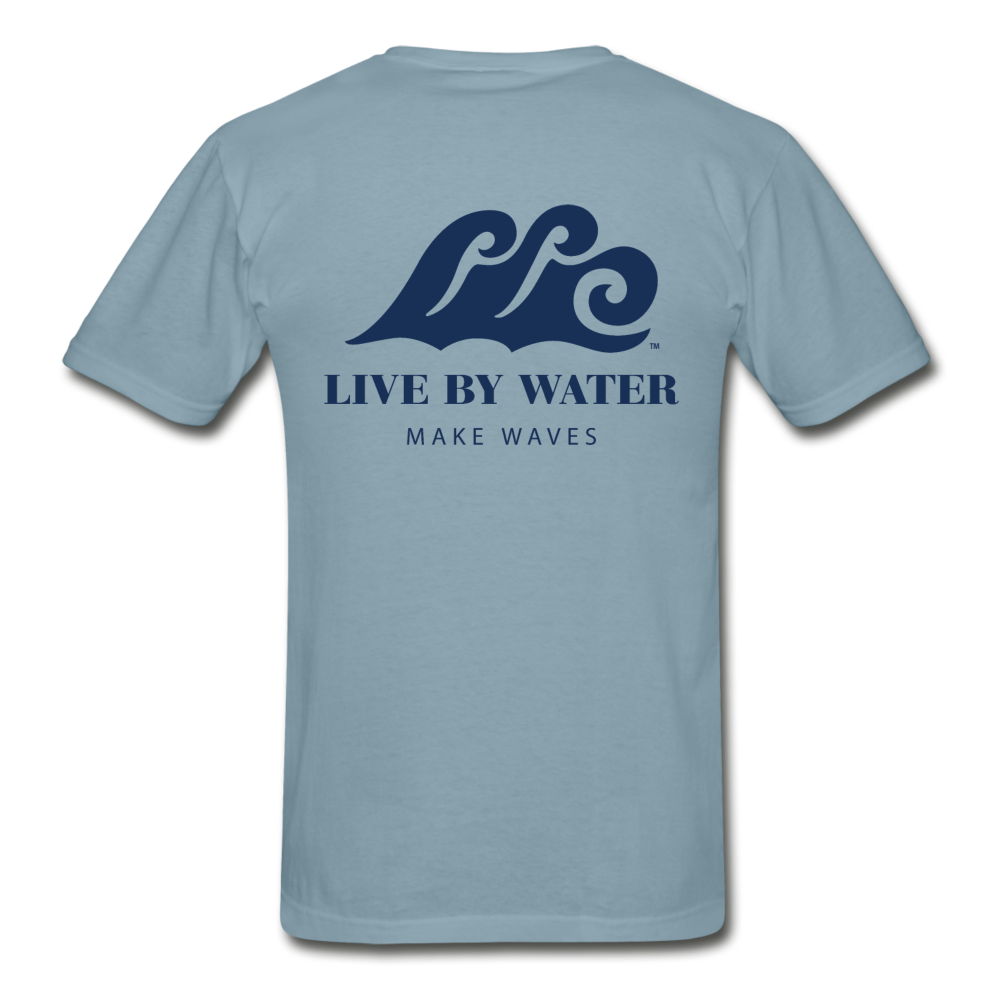 Make Waves - Unisex T-shirt - stonewash blue