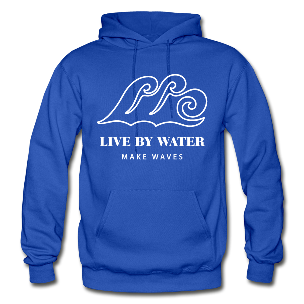Classic Logo-Unisex Heavyweight Hoodie - royal blue