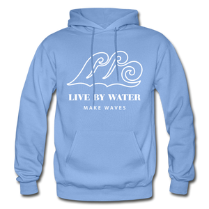 Open image in slideshow, Classic Logo-Unisex Heavyweight Hoodie - carolina blue