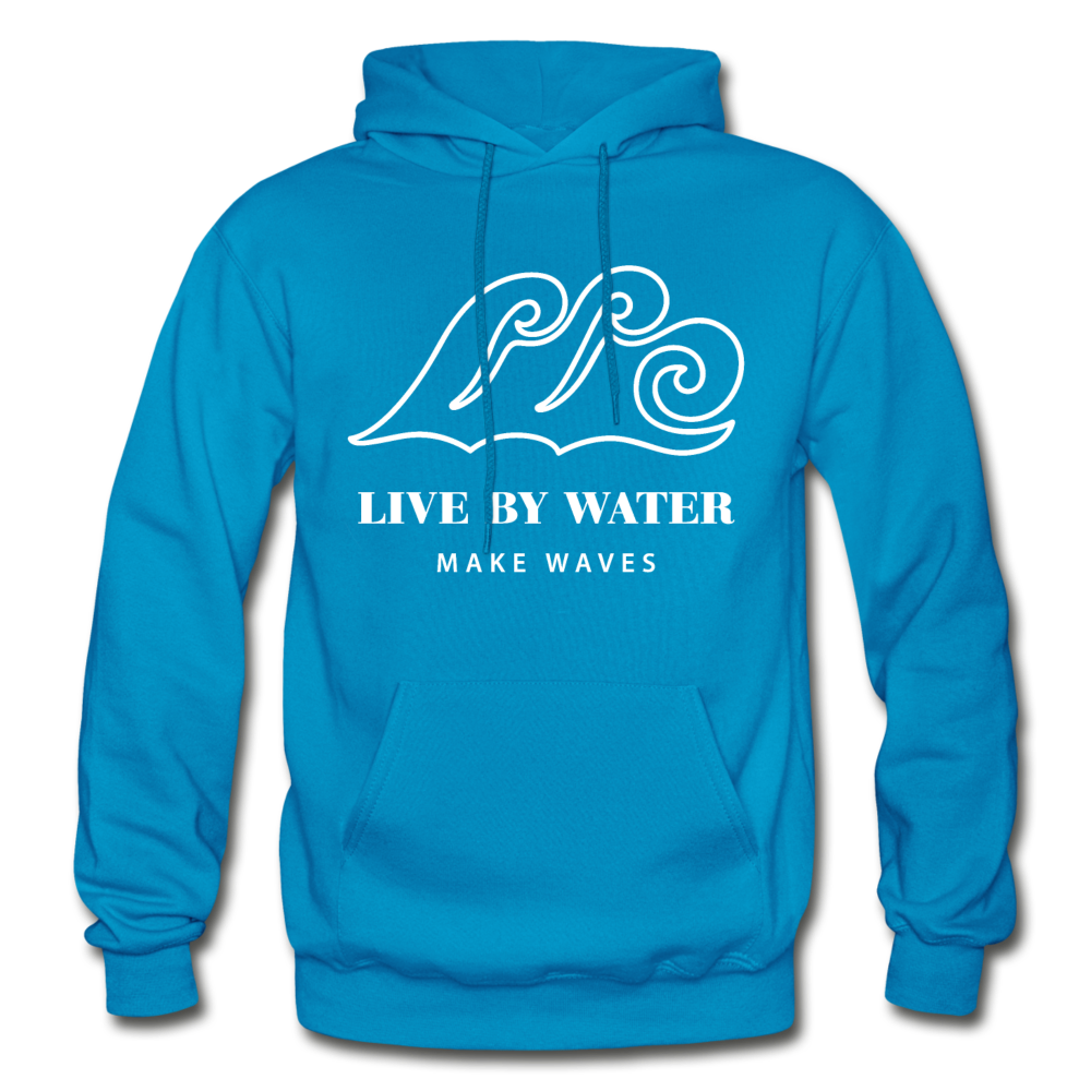 Classic Logo-Unisex Heavyweight Hoodie - turquoise