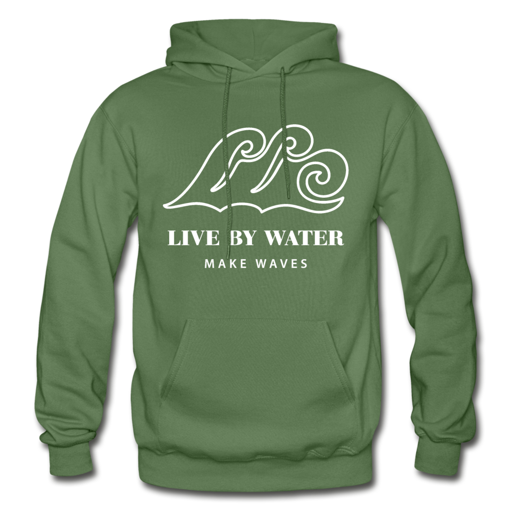 Classic Logo-Unisex Heavyweight Hoodie - military green
