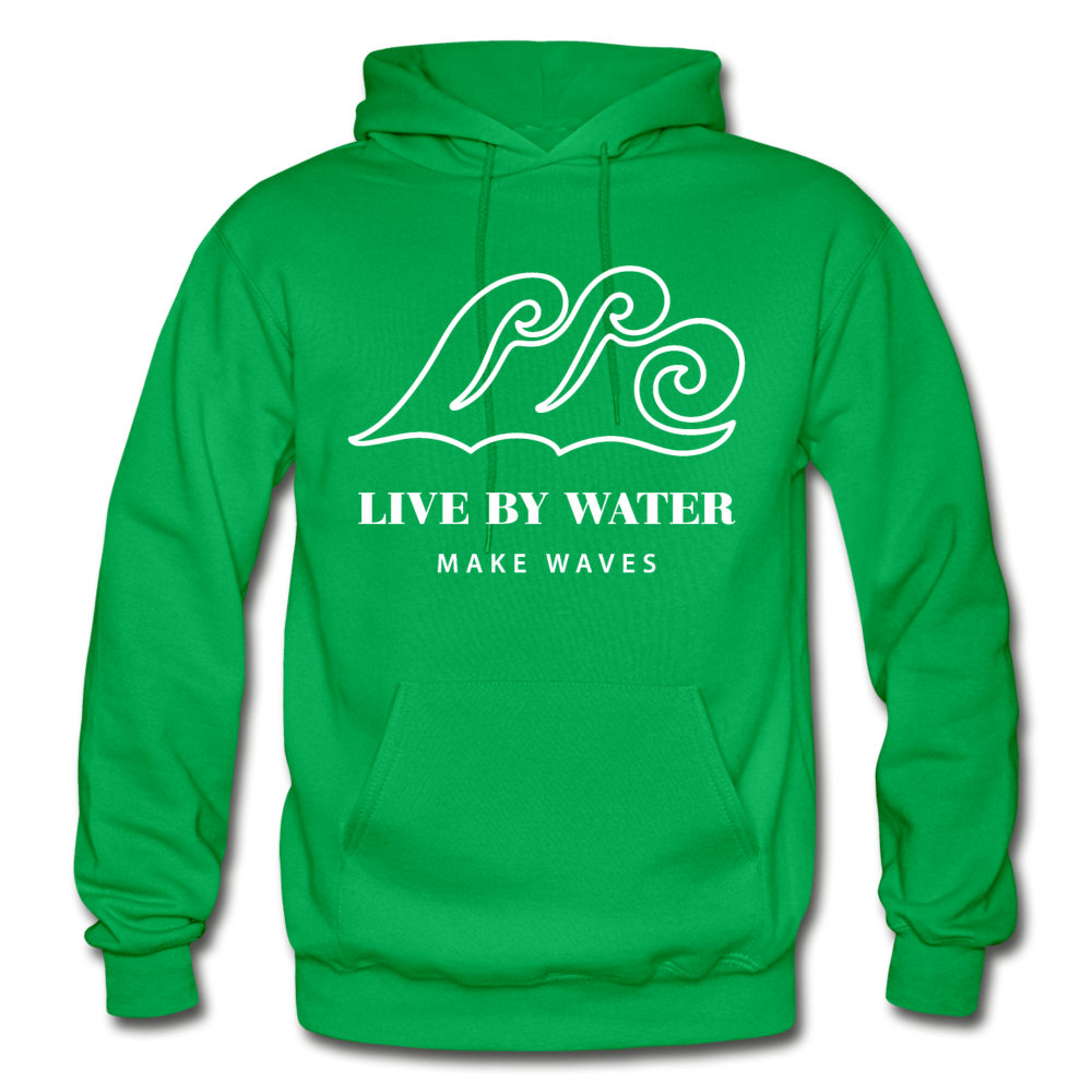 Classic Logo-Unisex Heavyweight Hoodie - kelly green