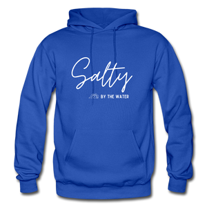 Open image in slideshow, Salty by the Water-Unisex Hoodie - royal blue