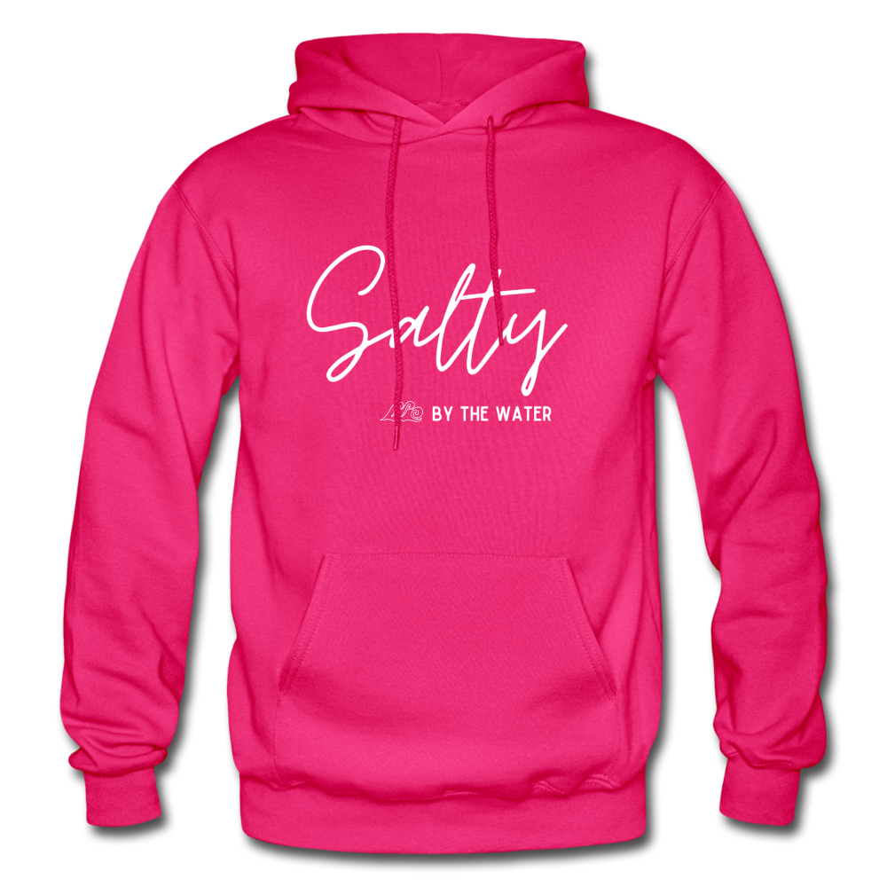 Salty by the Water-Unisex Hoodie - fuchsia