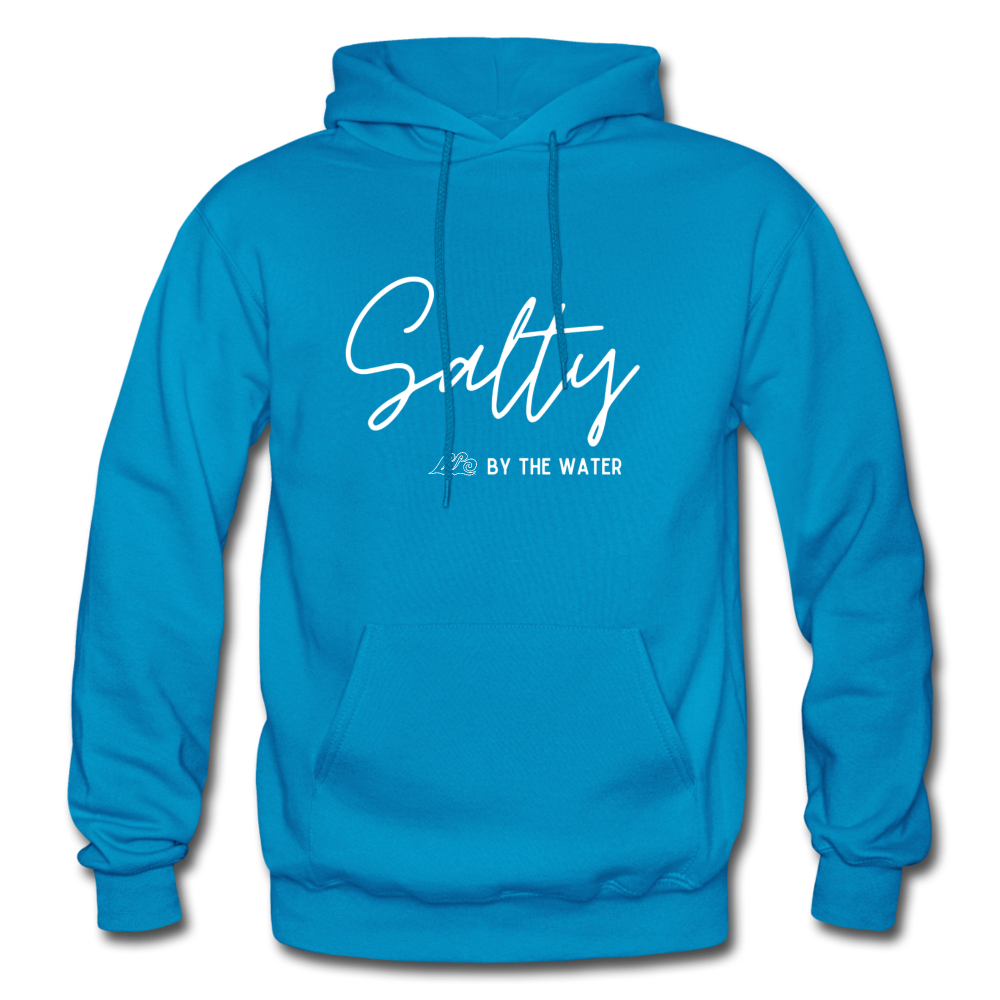 Salty by the Water-Unisex Hoodie - turquoise