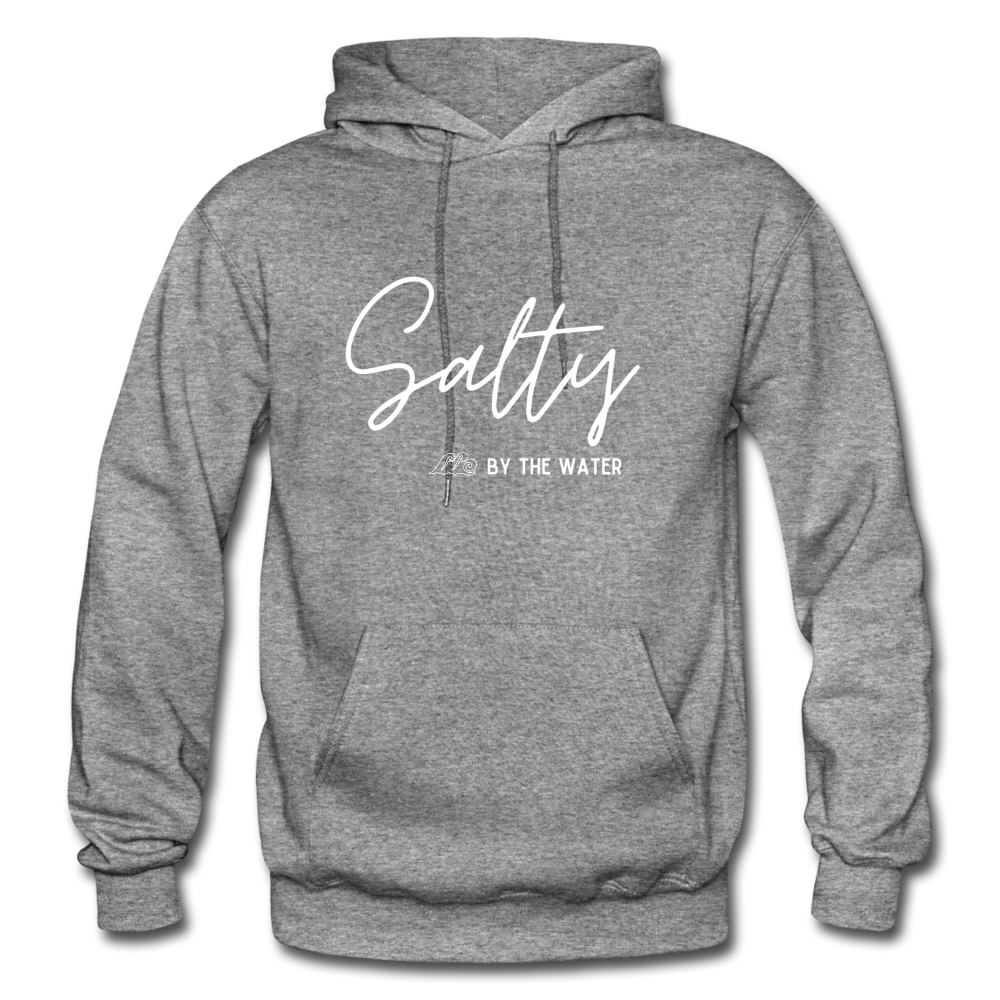Salty by the Water-Unisex Hoodie - graphite heather