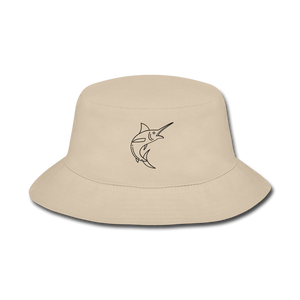 Open image in slideshow, Sword Fish LBW Bucket Hat - cream