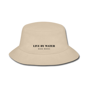 Sword Fish LBW Bucket Hat - cream