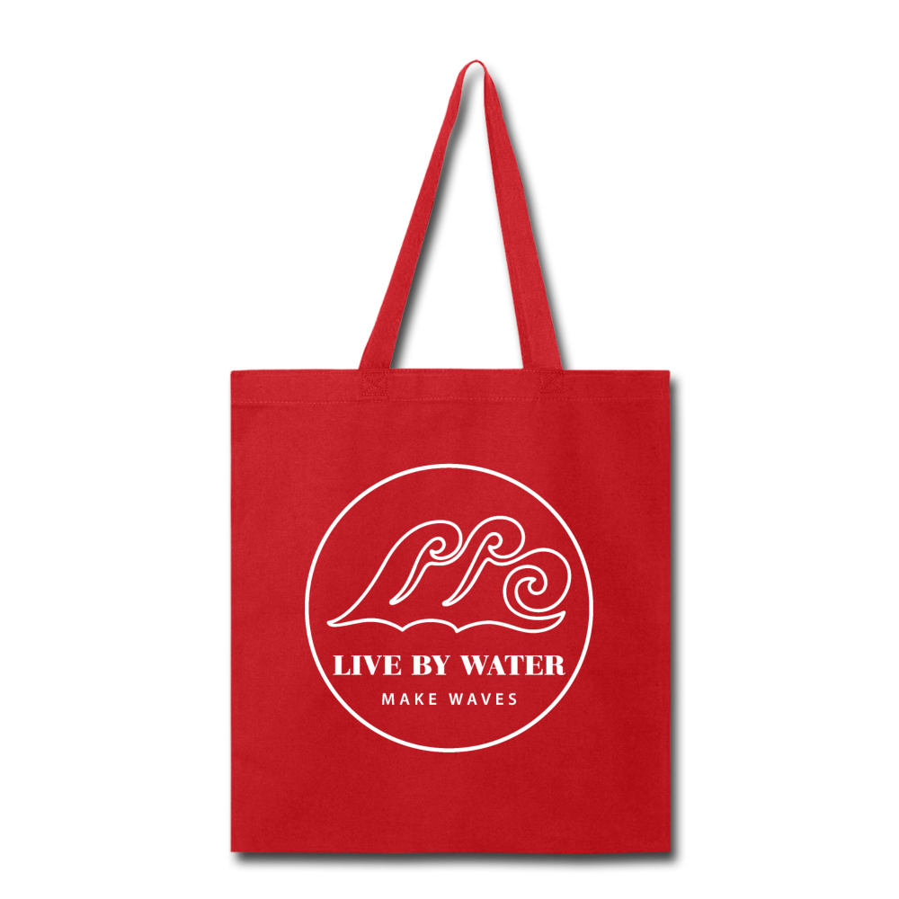 Classic Logo-Tote Bag - red