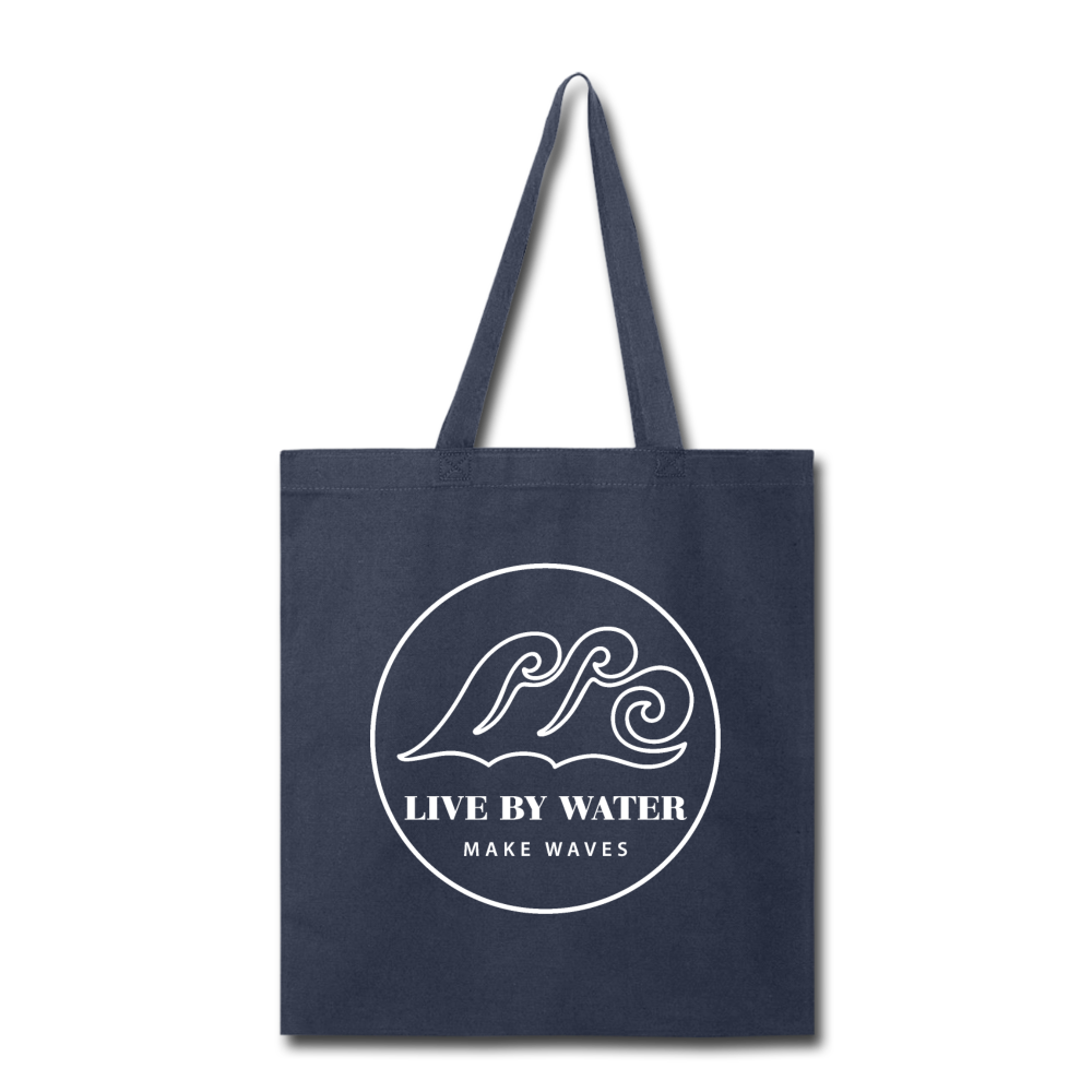 Classic Logo-Tote Bag - navy