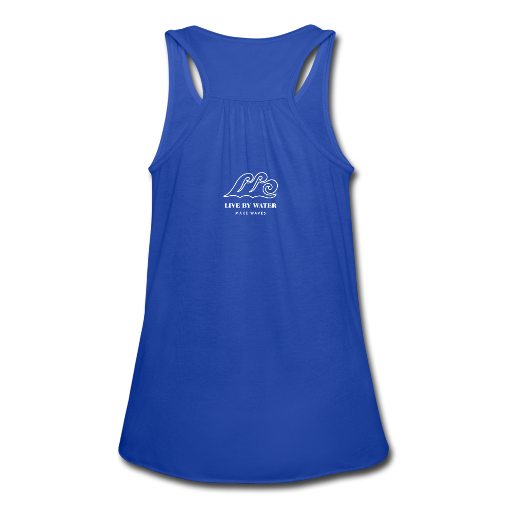 Make Waves-Tank - royal blue