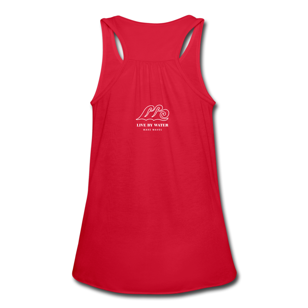 Make Waves-Tank - red