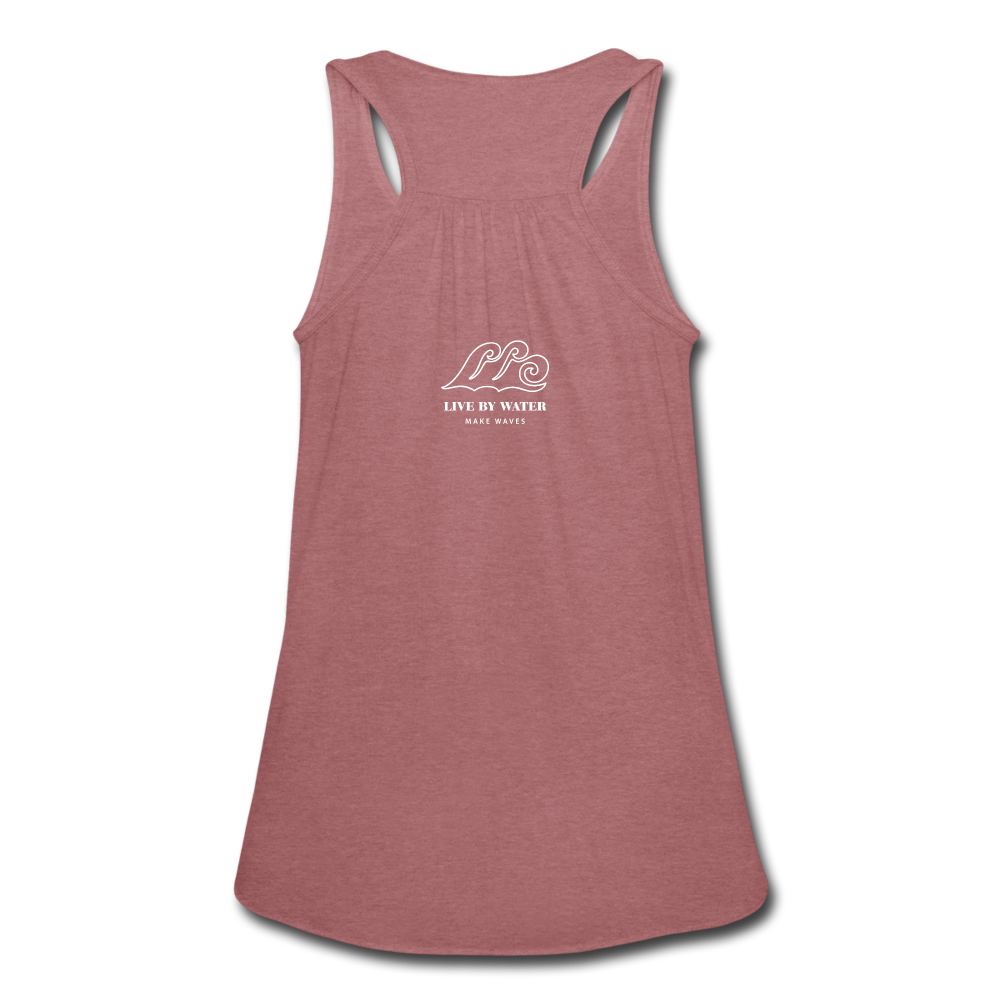 Make Waves-Tank - mauve