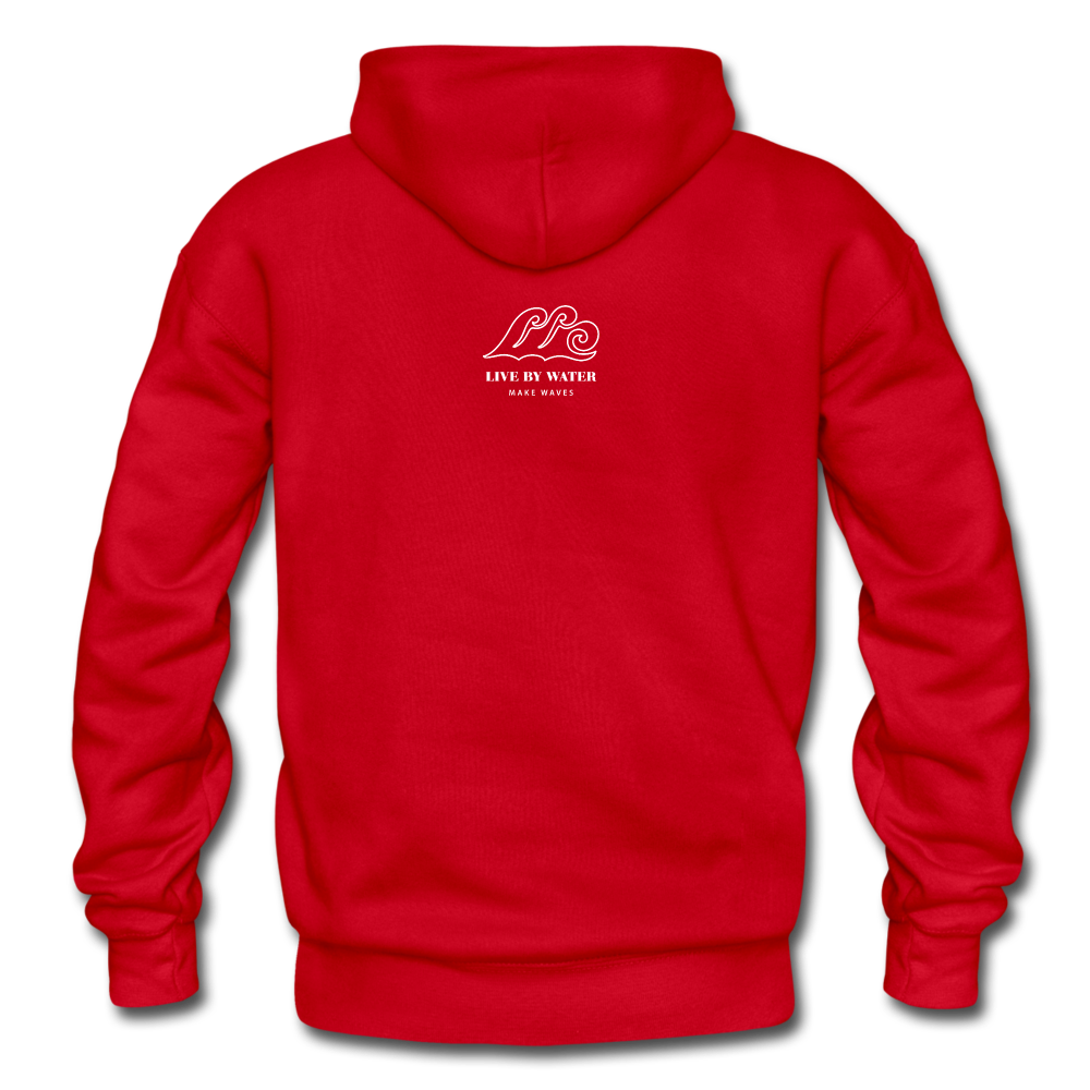 Protect What You Love/Octopus-2-sided Hoodie - red