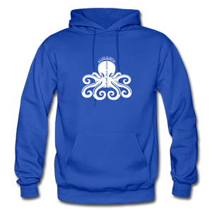 Open image in slideshow, Protect What You Love/Octopus-2-sided Hoodie - royal blue