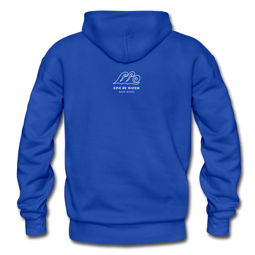 Protect What You Love/Octopus-2-sided Hoodie - royal blue