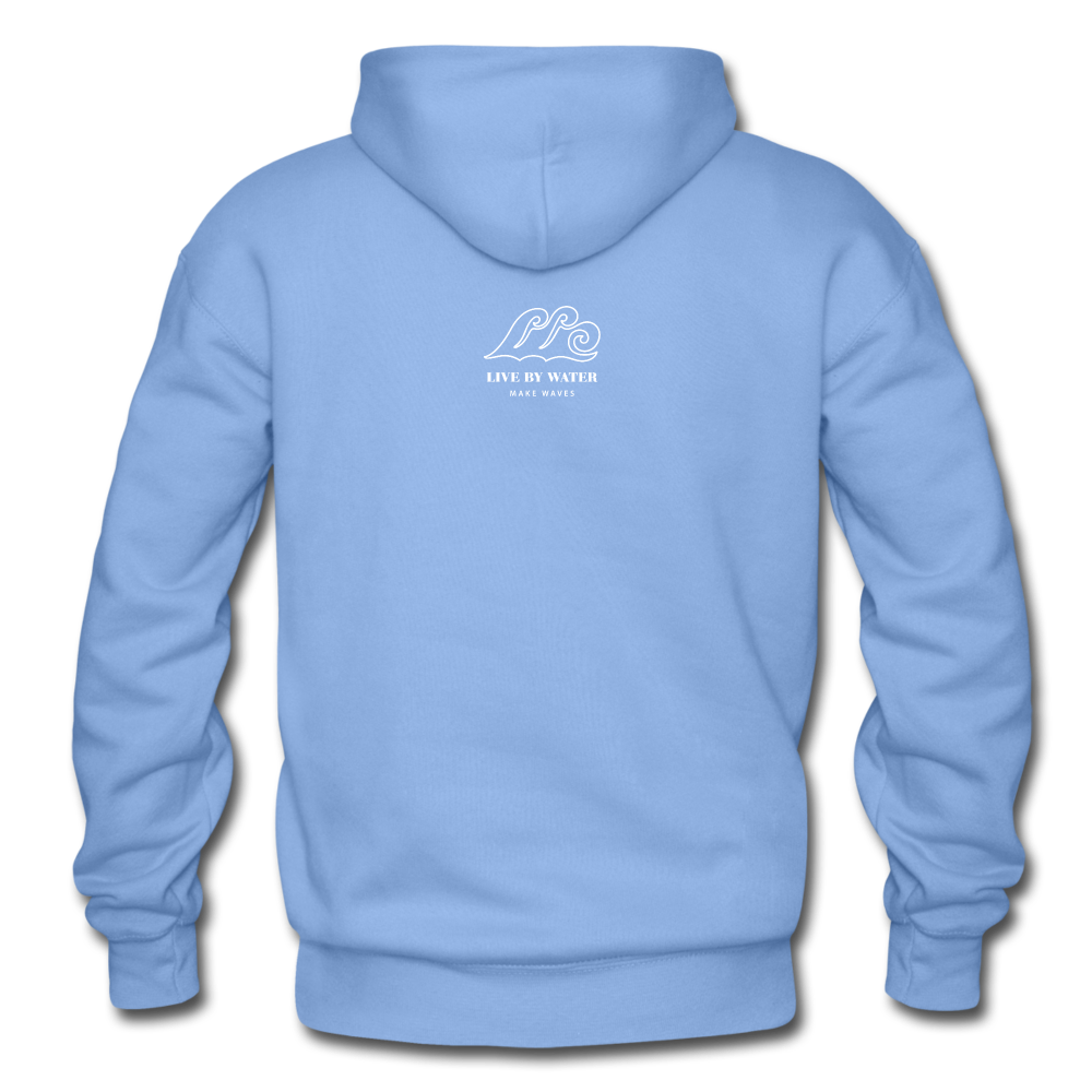 Protect What You Love/Octopus-2-sided Hoodie - carolina blue