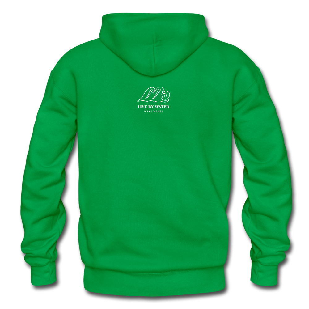 Protect What You Love/Octopus-2-sided Hoodie - kelly green