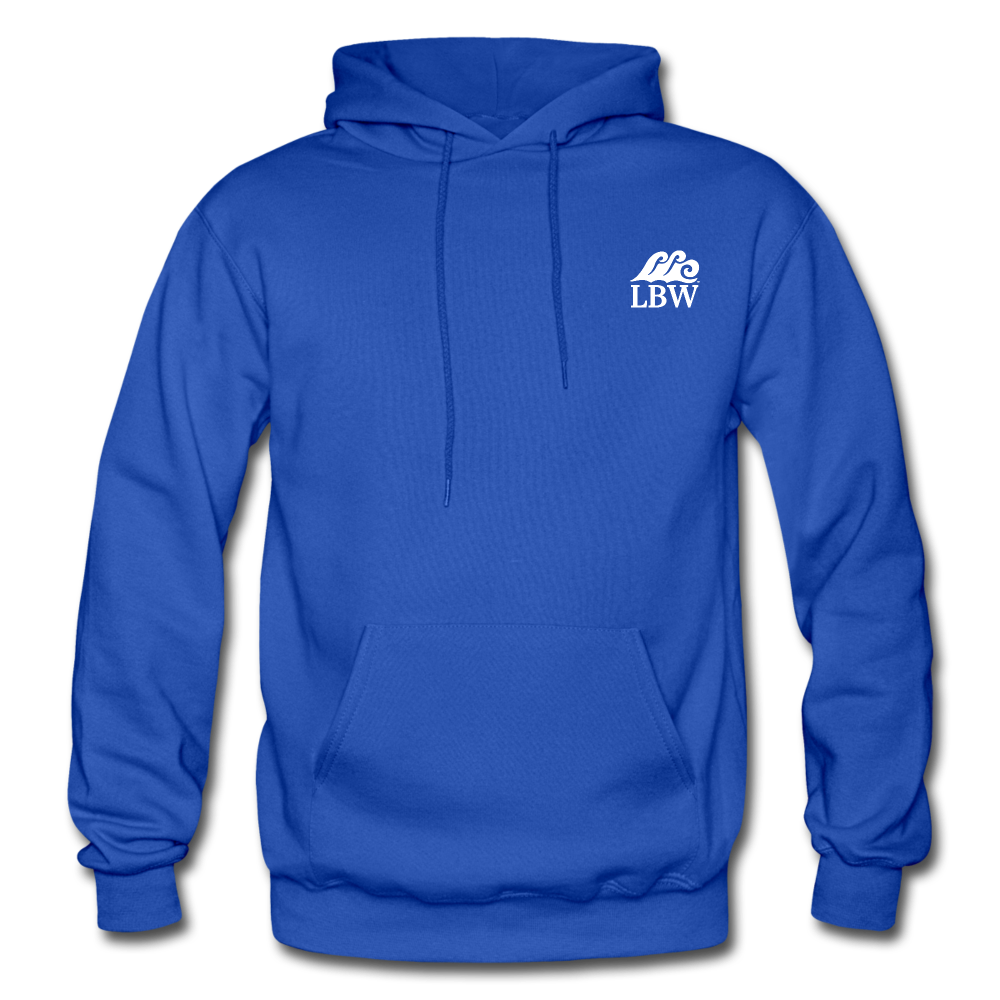 Mermaid with a Twist-Unisex 2-sided Hoodie - royal blue