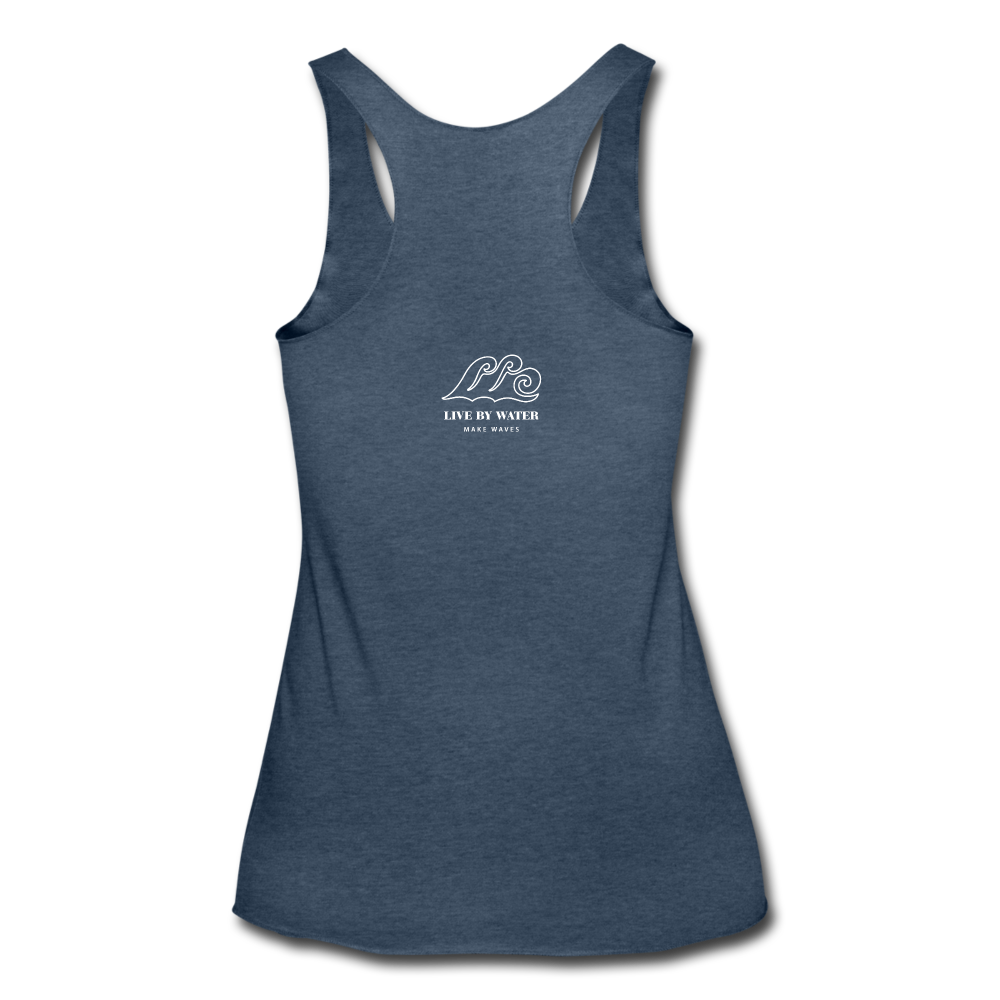 Protect what you Love Tank - heather navy