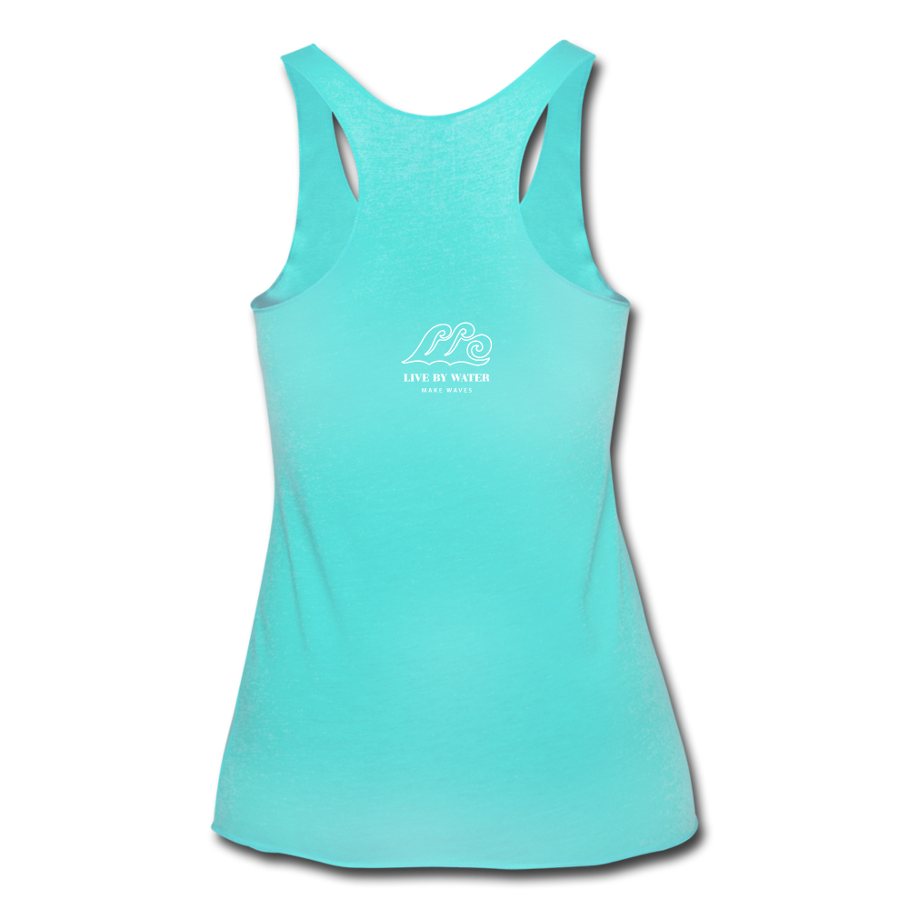 Protect what you Love Tank - turquoise
