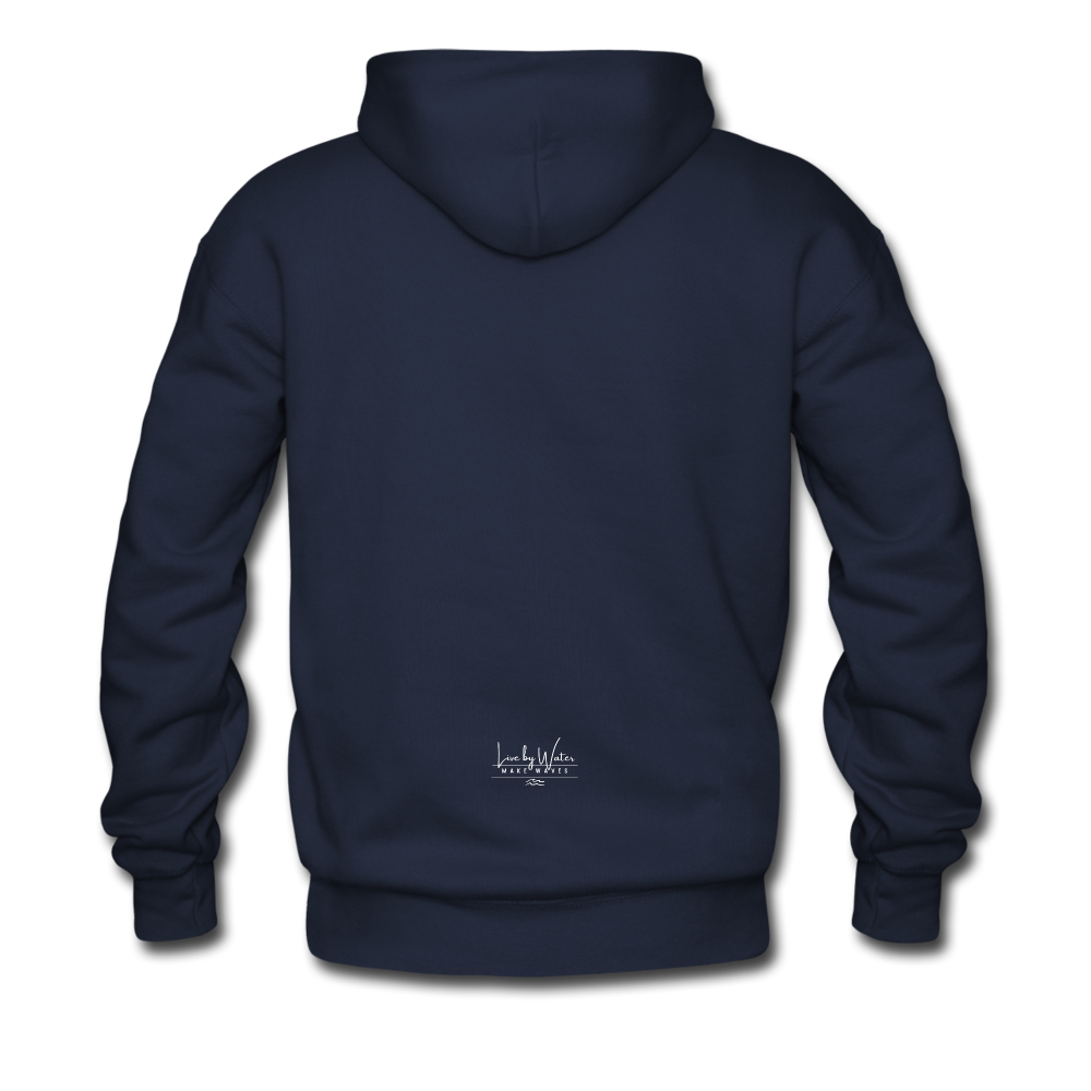 Protect what you Love-2-sided Hoodie - navy