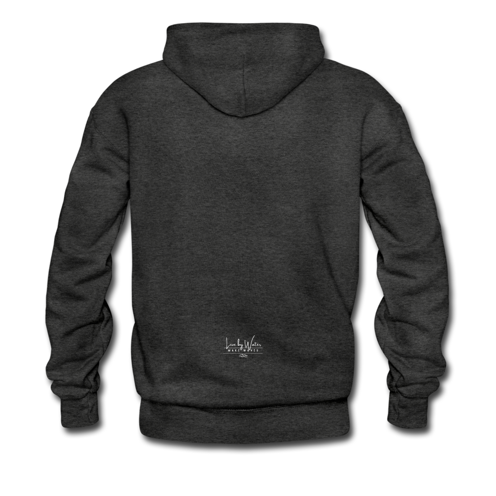 Protect what you Love-2-sided Hoodie - charcoal gray