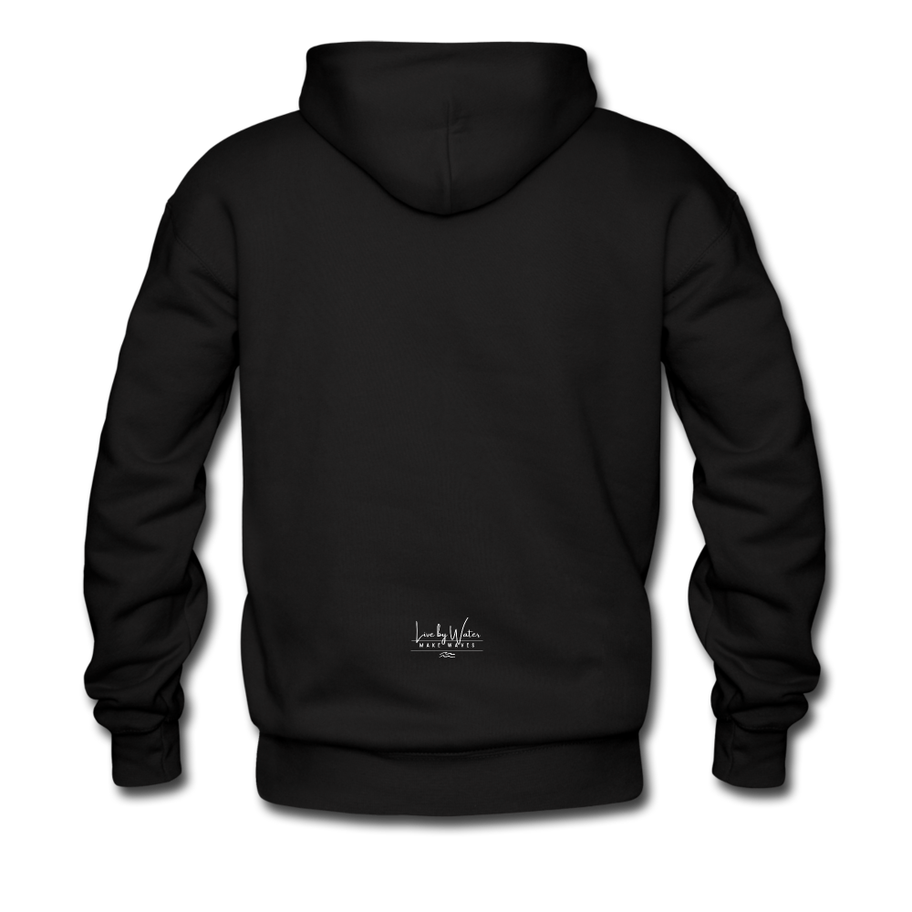 It's a Salty Kind of Day-2-sided Unisex Hoodie - black