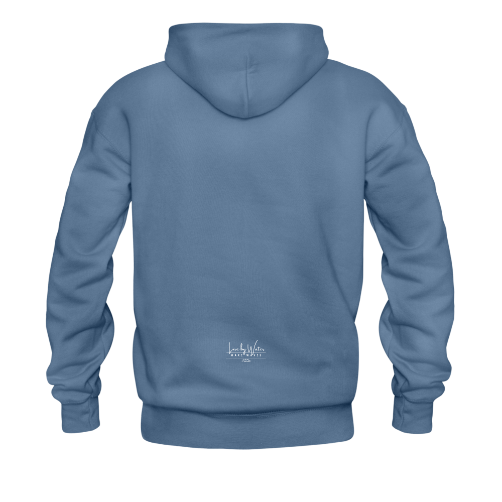 It's a Salty Kind of Day-2-sided Unisex Hoodie - denim blue