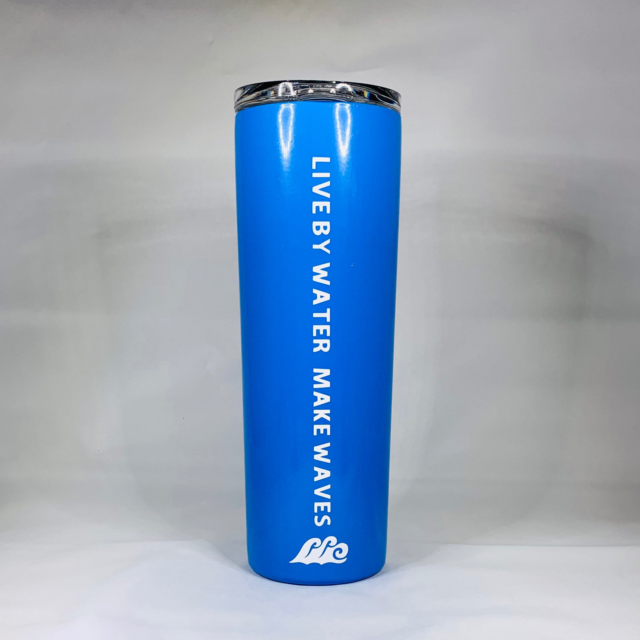 Tall Tumbler with LBWMW & wave logo