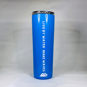 Open image in slideshow, Tall Tumbler with LBWMW & wave logo