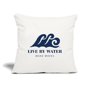 Live By Water - Throw Pillow Cover