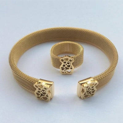 'Everly' Gold Party Bracelet