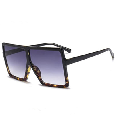'Isabelle' Big Square Sunglasses