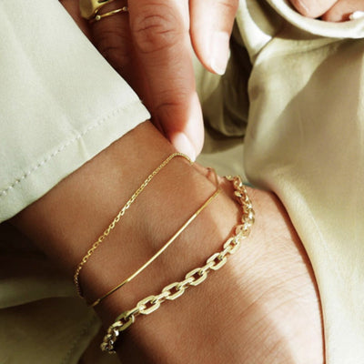 'Kayla' Simple Anklet sets