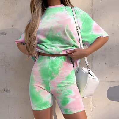 'Alaina' Tie and Dye Two Piece Set