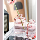 soliflore rose verre