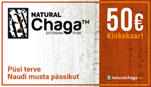Load image into Gallery viewer, Natural Chaga™ Gift Card