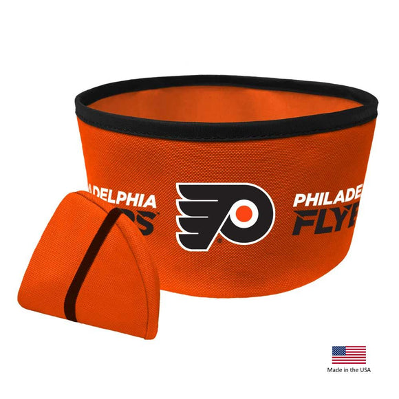 Philadelphia Flyers Collapsible Pet Bowl